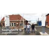 Перша і успішна установка Нового Портального Радіаційного Монітора SaphyGATE G від компанії SAPHYMO (Bertin Instruments)