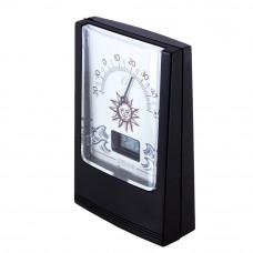 Термометр с часами настольный KONUS INDOOR