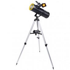 Телескоп Bresser Solarix 114/500 AZ (видны кольца Сатурна, спутники Юпитера) (Германия)