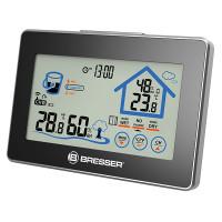 Термометр-гигрометр Bresser Funk (Touchscreen) - сенс. диспл,. прогноз уровня комфорта, внеш. датчик, min/max