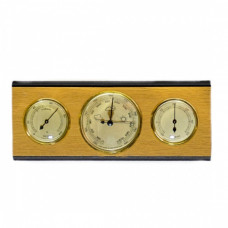 Барометр интерьерный с термометром и гигрометром Moller 203096 (Германия)