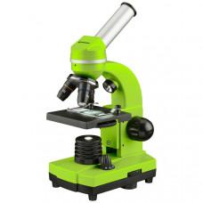 Микроскоп обучающий биологический для студентов Bresser Biolux SEL40x-1600xGreen (смартфон-адаптер) (Германия)