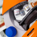 Микроскоп обучающий для ребенка детей Bresser Junior 40x-640x Orange (Base) (Германия)