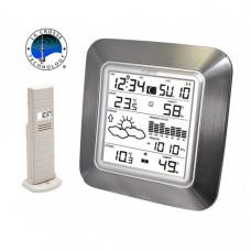Метеостанция - термогигрометр с прогнозом и часами La Crosse WS9057IT-ALU-S (Франция)