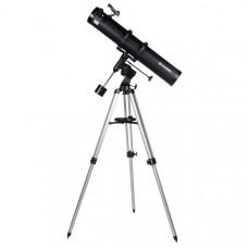 Телескоп с видоискателем Bresser Galaxia II 114/900 EQ (carbon) (Германия)