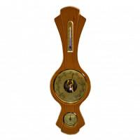Барометр настенный сувенирный подарочный с термометром гигрометром Moller 203261 (Германия)