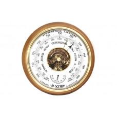 Барометр - термометр комнатный БТК-СН 8 натуральное дерево анероид
