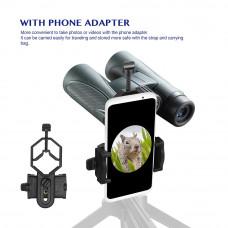 Бинокль Aomekie 10x42 адаптер смартфона универсальный водостойкий охота туризм природа рыбалка