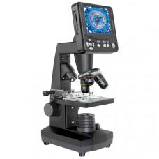 Микроскоп биологический оптико-цифровой профессиональный Bresser Biolux LCD 50x-2000x (Германия)