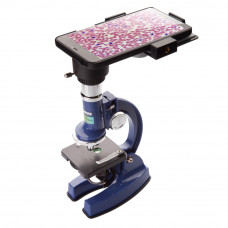 Детский микроскоп KONUS KONUSTUDY-4 (100x, 450x, 900x) с адаптером для смартфона