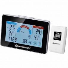 Термометр-гигрометр Bresser DCF with ventilation display - прогноз уровня комфорта, внеш. датчик, min/max