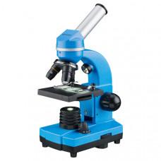 Микроскоп обучающий биологический для студентов Bresser Biolux SEL 40x-1600xBlue (смартфон-адаптер) (Германия)