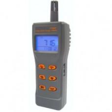 Портативний газовий аналізатор/термогігрометр (СО2,СО, RH, T) USB AZ-77597