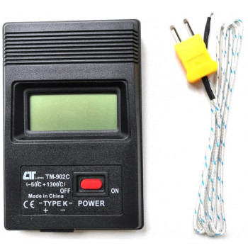 Термометр цифровой с термопарой TM-902C