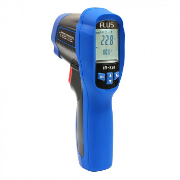 Пірометр з термопарою і пам'яттю FLUS IR-820 (-50...+500)