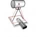 Рентгенівська лінійка RaySafe DXR+ (вирівнювання рентгенівського/світлового поля)