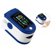 Пульсоксиметр на палець JN P01 TFT Blue електронний 5,8х3,2 см (np-JN P01)
