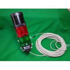 Пристрій звукової та світлової сигналізації для Дозиметрів рентгенівського и гамма випромінювання ДКС–АТ1121 та ДКС–АТ1123