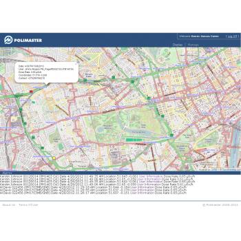 Геоинформационная мобильная система радиационного контроля NPNET®