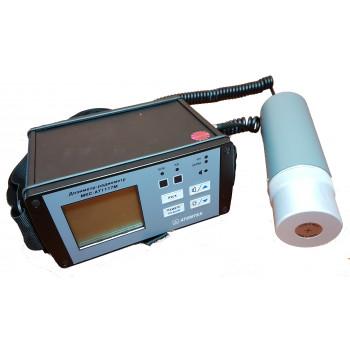 Дозиметр-радіометр МКС-АТ1117М АТОМТЕХ з зовнішнім блоком детектування Гамма та Рентгенівського випромінювання БДКГ-04