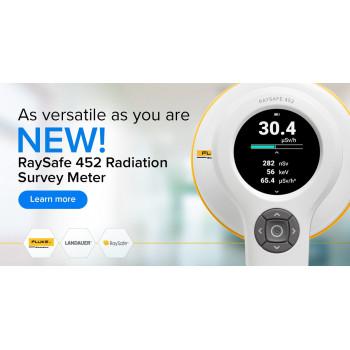 Медичний Дозиметр-радіометр RaySafe 452 (Вимірювання Дози, КЕРМИ)