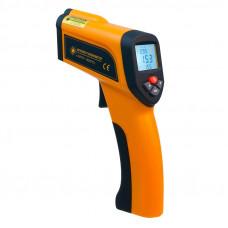 Пирометр термометр бесконтактный инфракрасный Xintest HT-6898 (-50...+1850°C, 50:1) с термопарой