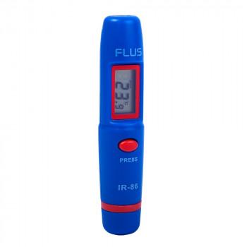 Інфрачервоний термометр дистанційний пірометр Flus IR-86 (-50 ...+260)