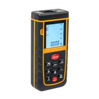 Цифровий лазерний далекомір на 60 м з бульбашковим рівнем RZA60