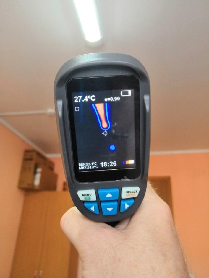 портативні тепловізори не тільки для енергоаудиту але і електриків