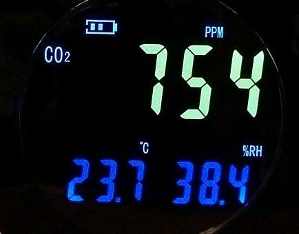 HT-501 - детектор - сигнализатор CO2 - термометр-гигрометр