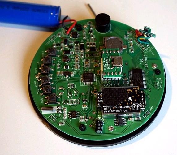 HT-501 - аналізатор вуглекислого газу - гігрометр-термометр