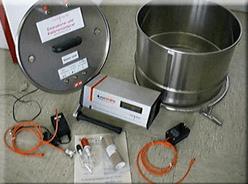 Комплект лабораторного оборудования для практических измерений эманиро-вания радона из горных пород и материалов