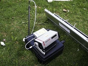 Комплект для измерения радона в почвенном воздухе