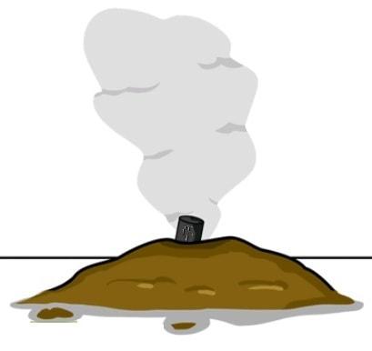 как избавиться от крота дымом и газом