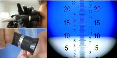 как пользоваться рефрактометром