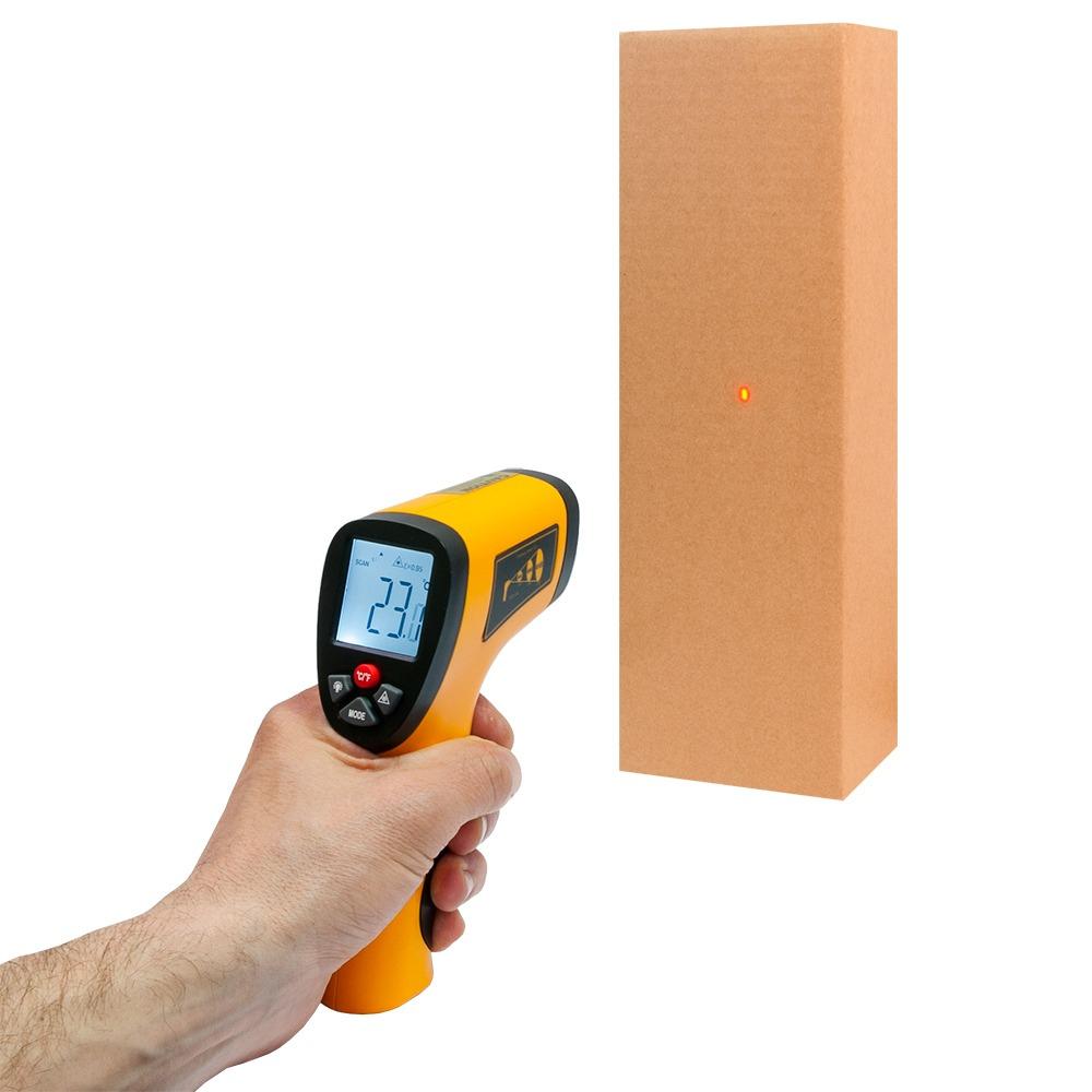 Інфрачервоний термометр - пірометр Xintest HT-822 (-50...+380) - 2