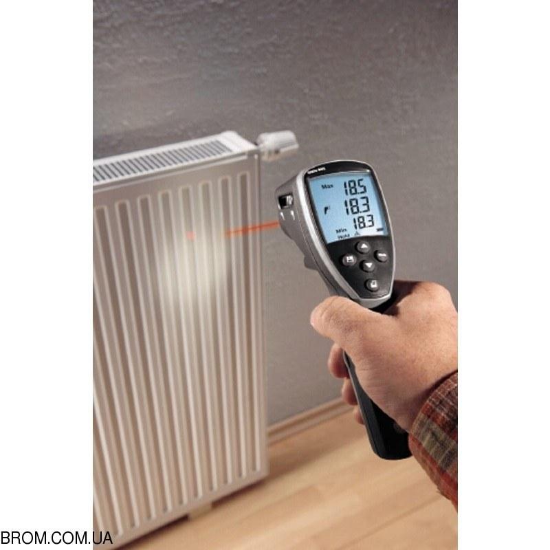 Инфракрасный термометр - пирометр testo 845 (-35...+950) с модулем влажности - 4