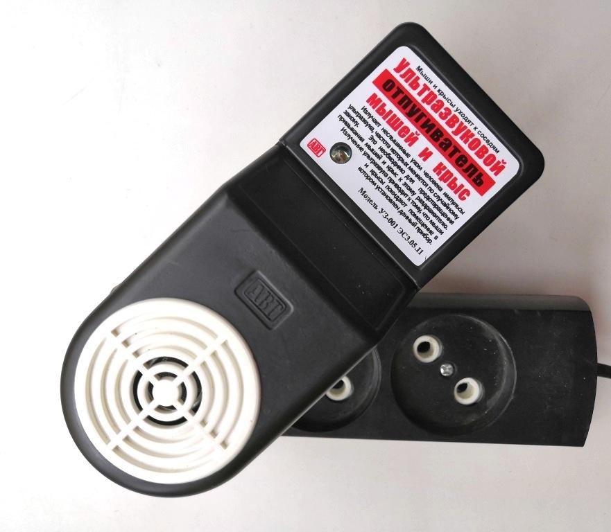 Ультразвуковий відлякувач гризунів УЗ-001 (100 кв.м.) виробництва Україна - 2