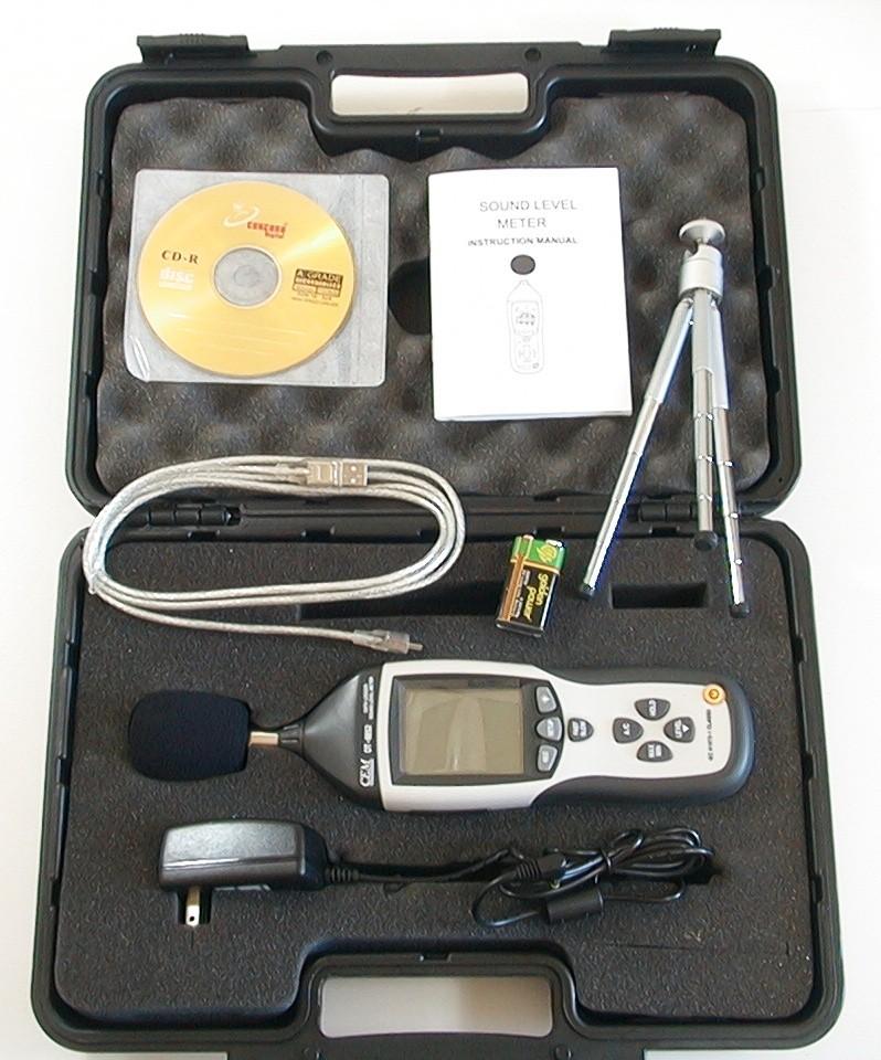 Шумомір DT-8852 USB + Програмне забезпечення - 1