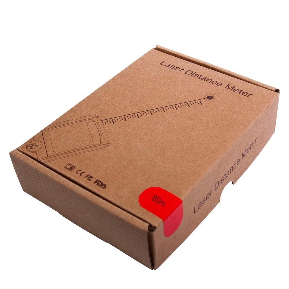 """Далекомір лазерний - рулетка Waysear """"BR-80"""" - 5"""