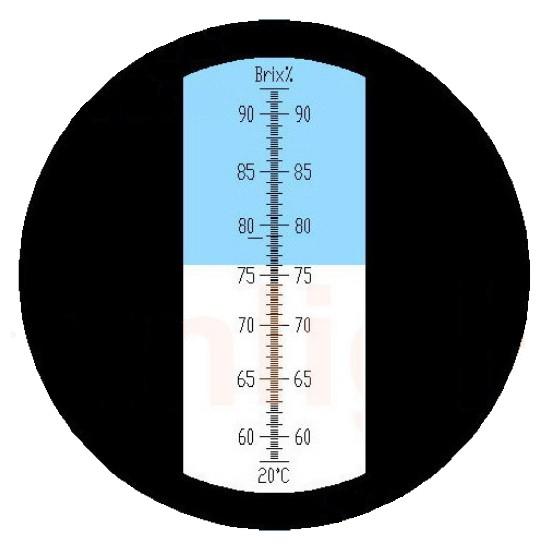 """Рефрактометр для цукру (58…92% Brix) """"HT117ATC"""" - 2"""