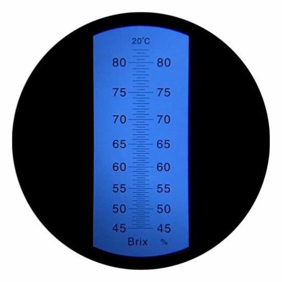 """Рефрактометр для сахара (45…82% Brix) """"HT115ATC"""" - 2"""