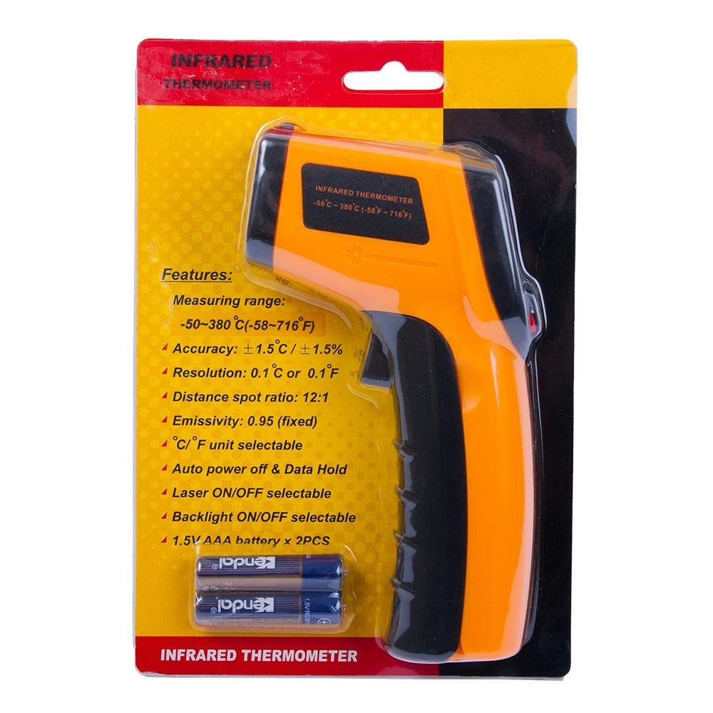 Инфракрасный термометр - пирометр GM320 (-50…+380) - 3