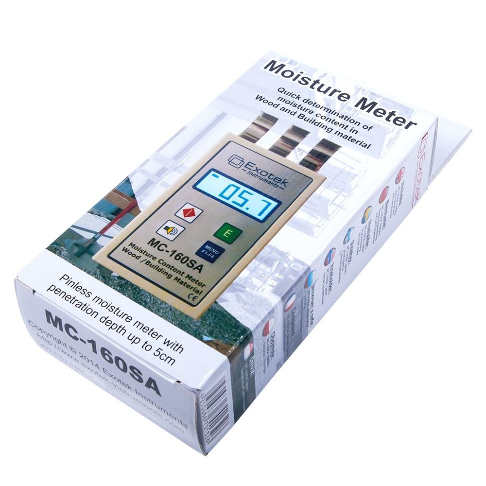 Профессиональный СВЧ влагомер древесины и стройматериалов EXOTEK MC-160SA - 5