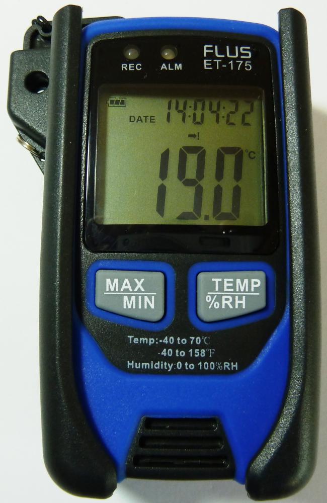 """Даталогер - реєстратор температури і вологості Flus """"ET-175"""" - 7"""