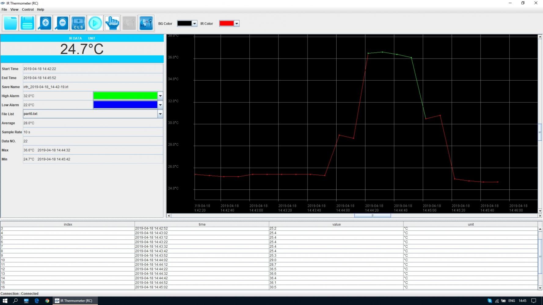 Инфракрасный термометр - пирометр FLUS IR-866U (-50…+2250) - 4