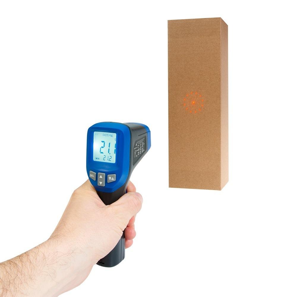 Інфрачервоний термометр - пірометр Flus IR-830 (-30...+1150) - 2