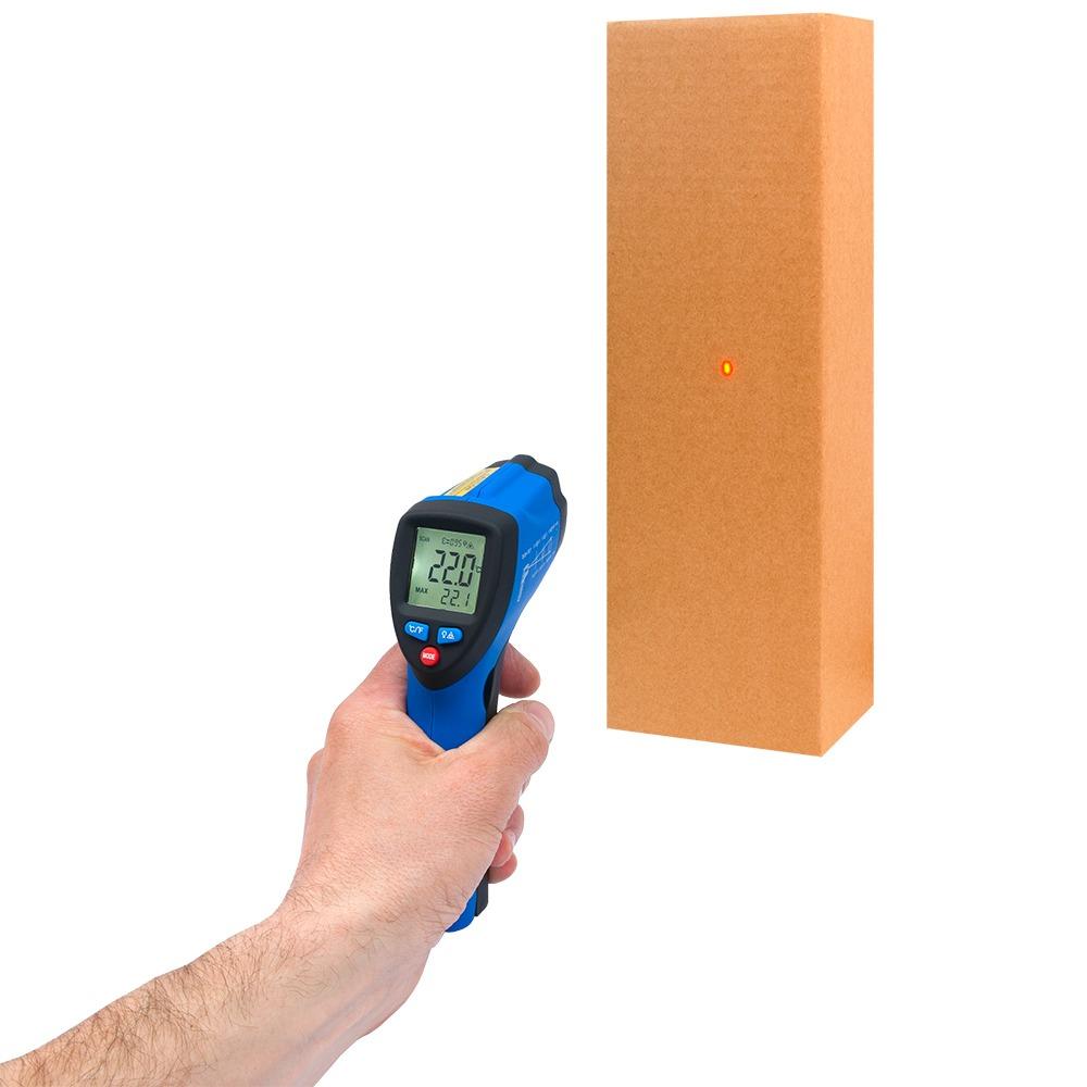 Інфрачервоний термометр - пірометр Flus IR-801H (-50...+ 350) - 2
