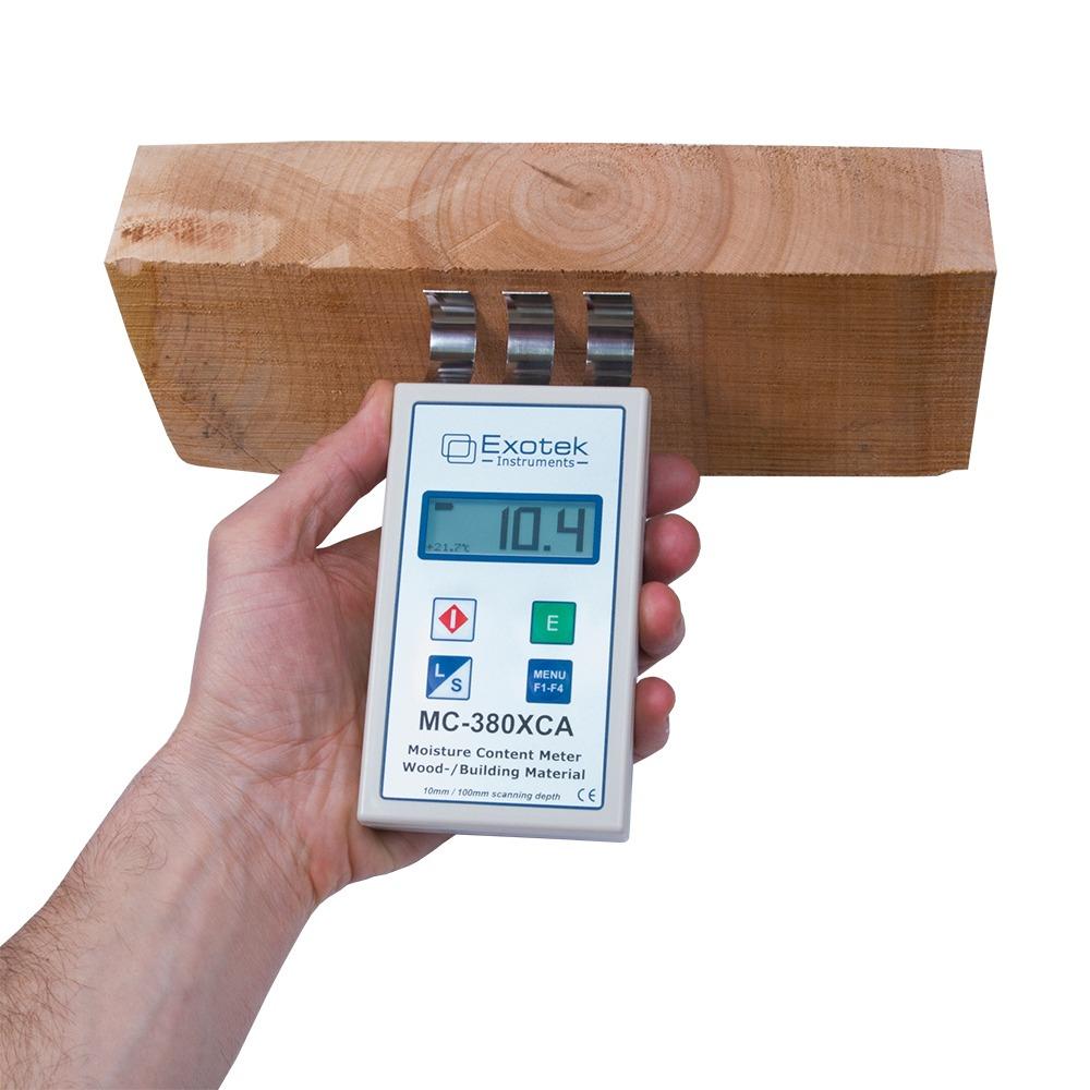 Профессиональный СВЧ влагомер древесины и стройматериалов EXOTEK MC-380XCA - 3