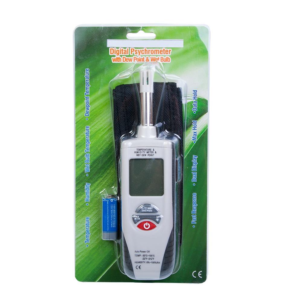 """Професійний термогігрометр Xintest """"HT-350"""" - 5"""